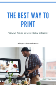 how to print photography at home selling your photos online